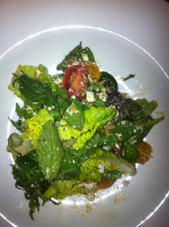 Catharina's Restaurant at Steenberg: salad course