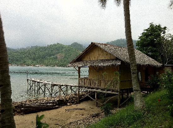 Teluk Kiluan: our cottage...