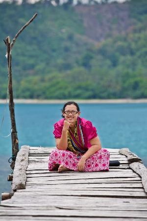 Tanggamus, Indonesia: enjoying the sunshine...