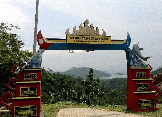 Tanggamus, Indonesia: the gate of Kiluan...