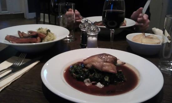 The Copper Hen: Sunday lunch: confit of duck w/ kale and bacon - super delicious