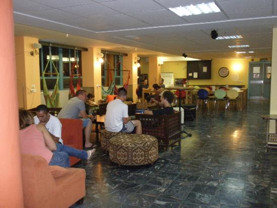 Abraham Hostel Jerusalem: common area