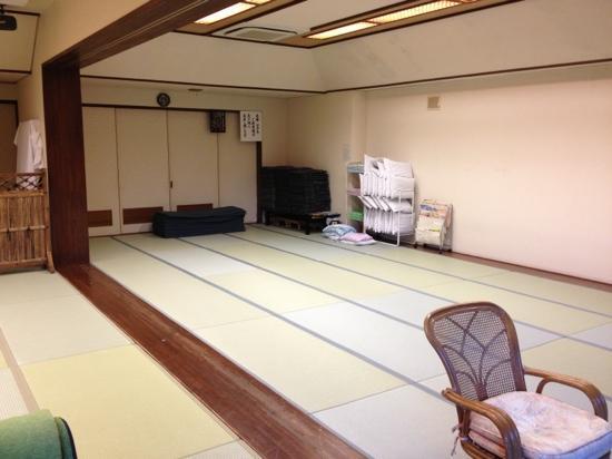 Kurama Onsen: relaxation room