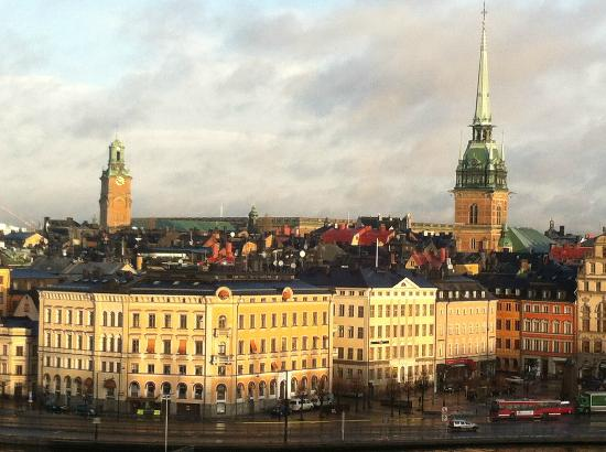 Hilton Stockholm Slussen: View from room