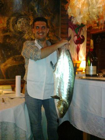 Nova Gorica, Slovenia: The big amberjack!