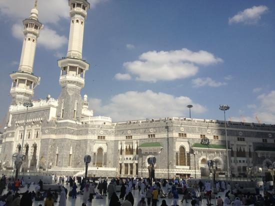 Makkah Hilton Towers: your view as soon as you leave the hotel