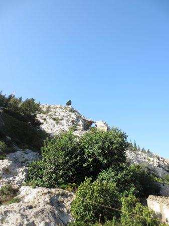 C'era Una Volta Scicli: Pittoreske Kalksteinfelsen hinter unserem Ferienhaus