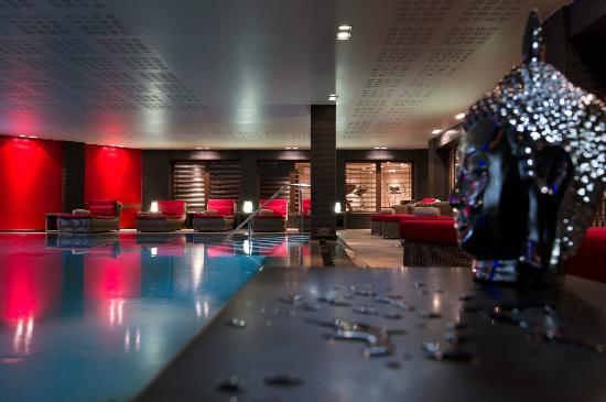 Hotel Manali : Piscine du Mahayana Spa de l'hôtel