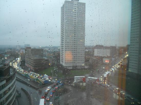 Radisson Blu Hotel, Birmingham: View from the window