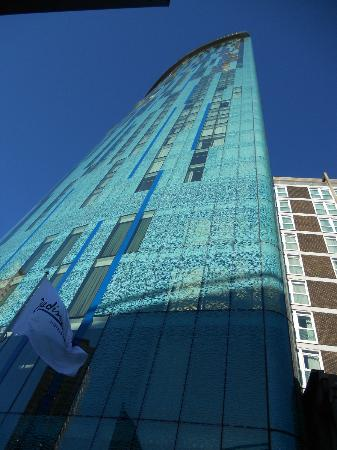 Radisson Blu Hotel, Birmingham: Things are looking up !