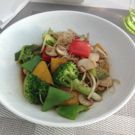 Rosewater: chines noodles - from live station