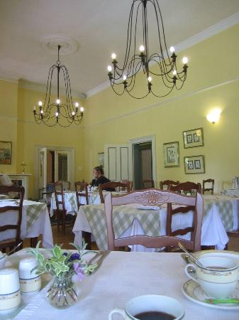 Bonne Esperance: The breakfast room