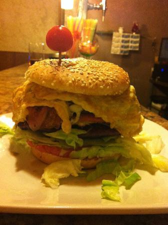 Golfo's: hamburguesa de doble carne