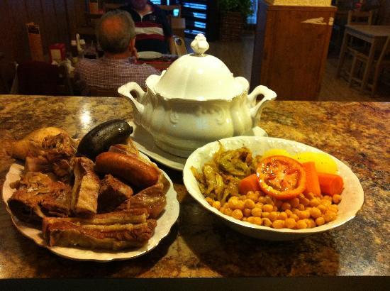 Golfo's: nuestro cocido