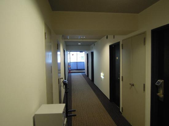 Super Hotel Tokyo Akabane: 廊下