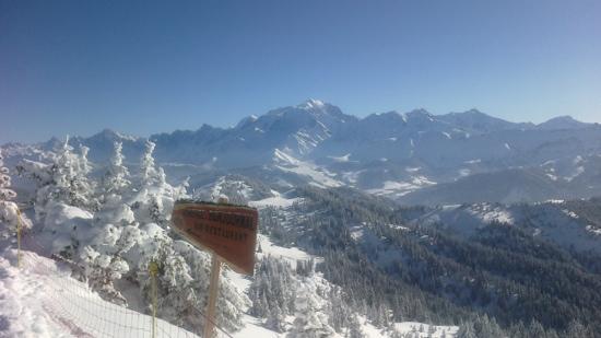 Mont d'Arbois Ski Area: красота