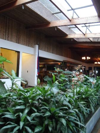 Villa Blanca Cloud Forest Hotel and Nature Reserve: Inside of the hotel