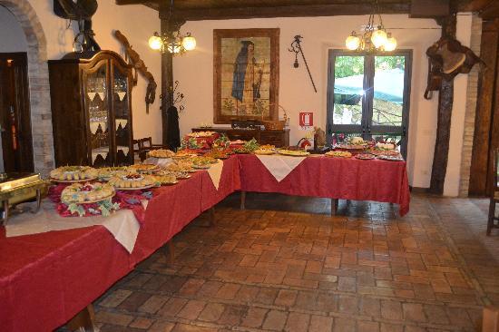 Gualdo Tadino, إيطاليا: I nostri buffet