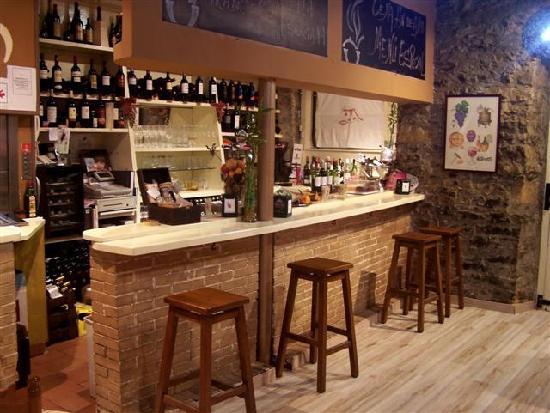 La Marmita: Planta baja, bar