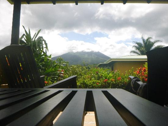 Arenal Manoa Hotel & Spa: View from our room's patio
