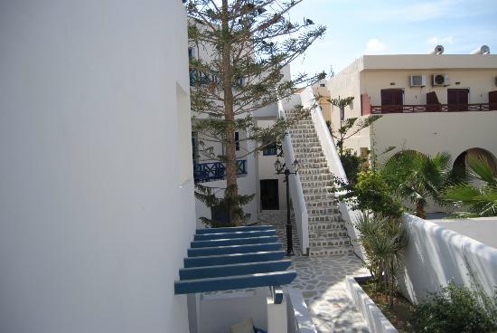 Veggera Hotel: vistas desde mi terraza