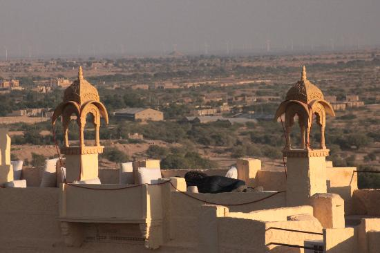 Sagar Guest House: view from Rooftop