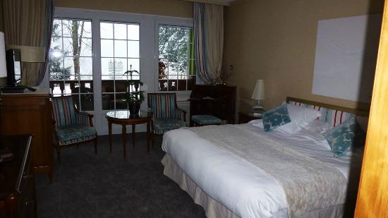 Hostellerie La Cheneaudiere - Relais & Chateaux: Notre chambre Terrasse