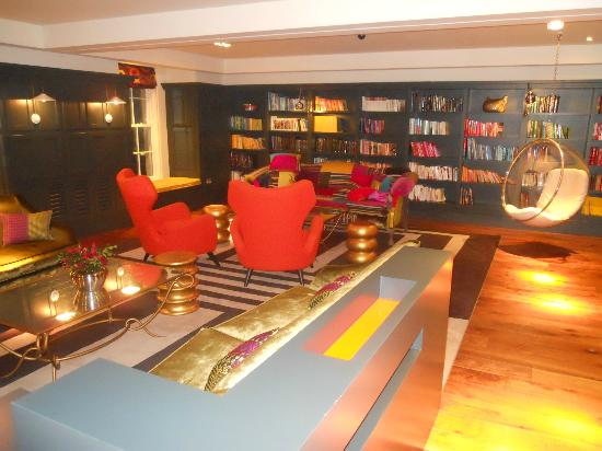 Rudding Park Hotel: The library