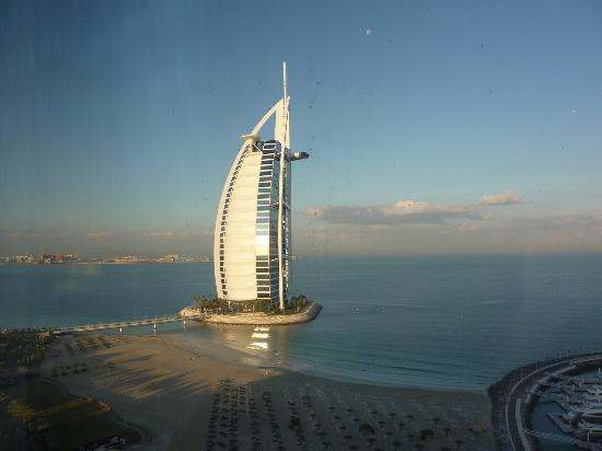 Jumeirah Beach Hotel: View from room 2014