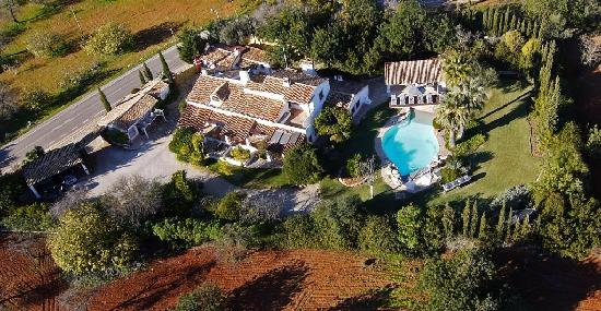 Casa Belaventura: aerial