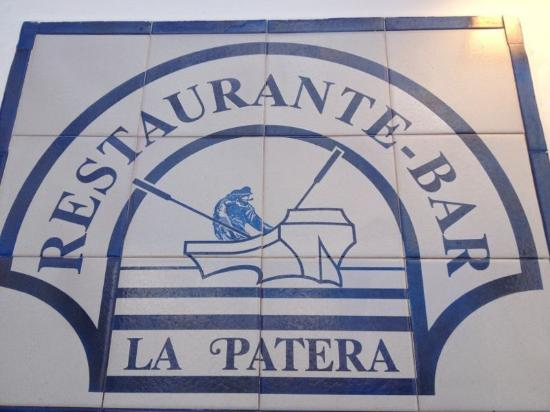 Restaurante La Patera: Winter sun......