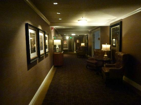 The Los Angeles Athletic Club Hotel: 11th. Floor Hall