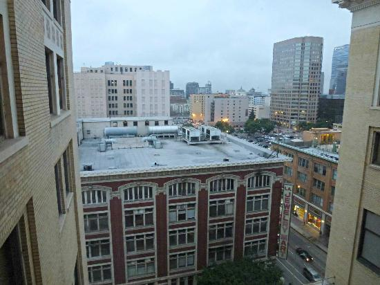 The Los Angeles Athletic Club Hotel: View from Room 1122