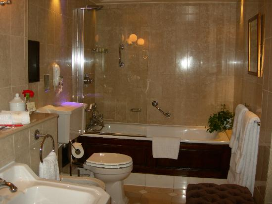 The Milestone Hotel: A shot of the bathroom
