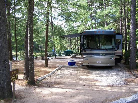 Chocorua Camping Village: Super Site on the Water