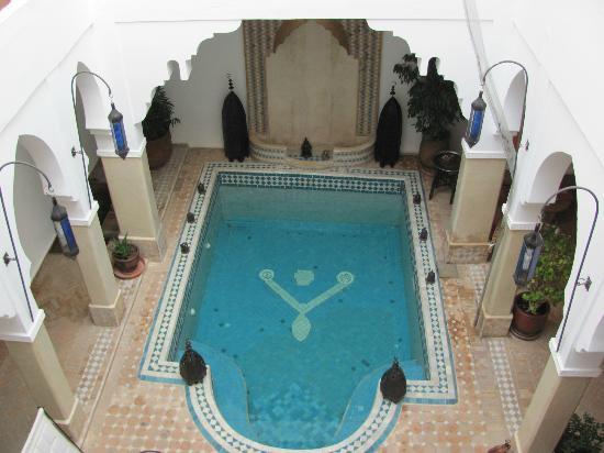 Riad Les Jardins Mandaline: kleiner, aber feiner Pool