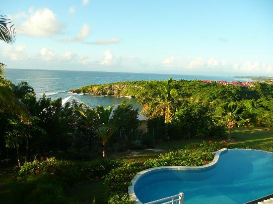 Hotel Amaudo: vue depuis la chambre
