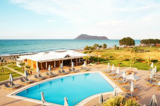 Sunprime Platanias Beach: Prime Kitchen by the sea