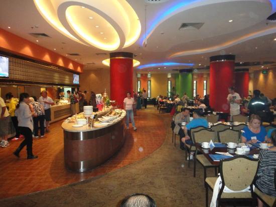 Grand Gongda Jianguo Hotel: Breakfast area