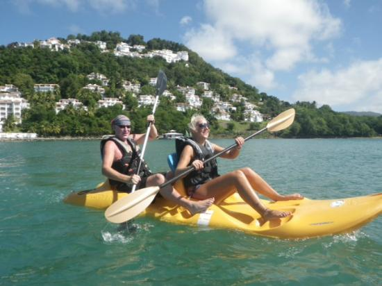 Windjammer Landing Villa Beach Resort: see kayaking