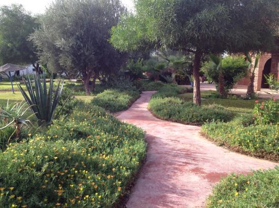 Domaine Le Relais de Marrakech : garden
