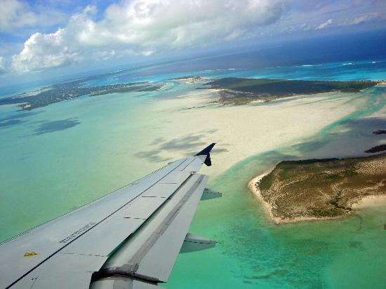 Sands at Grace Bay: Our landing into Turks and Caicos