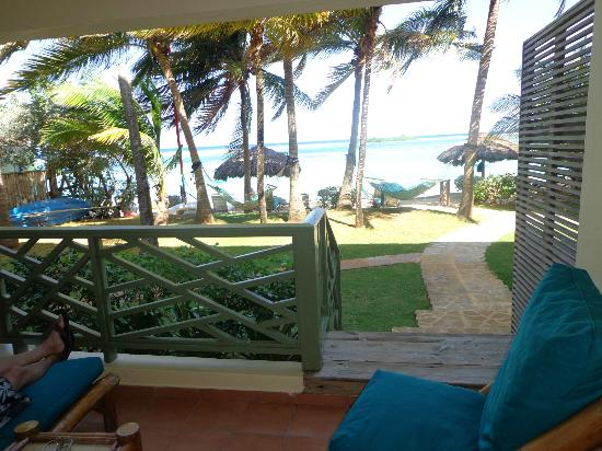 Coyaba Beach Resort: View from our room