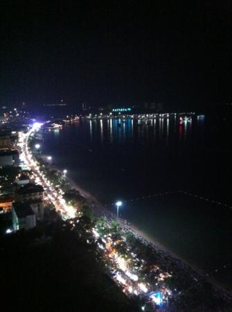 Hilton Pattaya: view from 27th floor