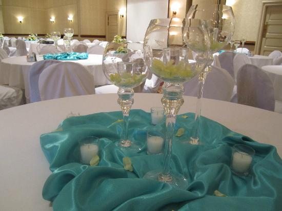 The Blennerhassett Hotel: Decorations before the reception