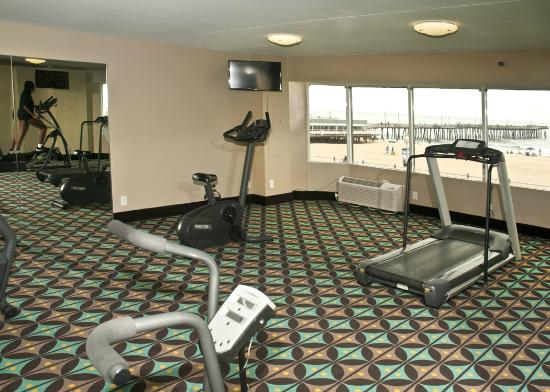 Best Western Plus Sandcastle Beachfront Hotel: Fitness Center