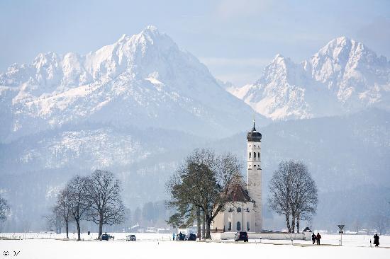 Deutschland: Schwangau: Pilgrimage Church of St. Coloman