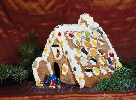 Tyskland: Gingerbread house
