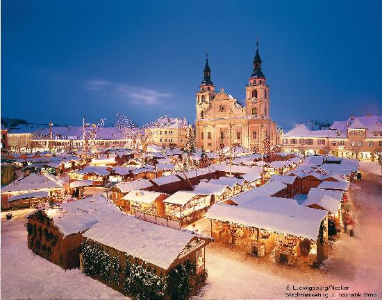 Deutschland: Ludwigsburg/Neckar: Christmas market