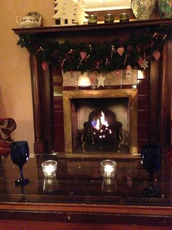 Linthwaite House: fireplace